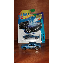 Hot Wheels 67 Camaro Hw City 43/48 Colour Shifters