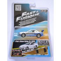 Brian´s Nissan Skyline Rápido Y Furioso Fast & Furious Jada