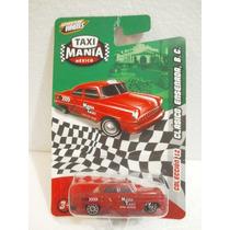 Taxi Mania Taxi Clasico Ensenada Baja California Rojo 1:64