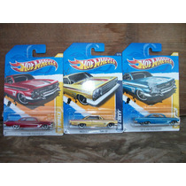 Tm.hot Wheels Lote Chevi,s Impala 61/62