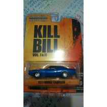Dodge Charger 1971 Azul Kill Bill R/r Green Light Lyly Toys