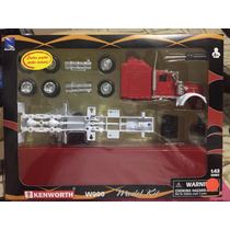 Newray Kenworth W900 Model Kit Para Armar, Escala 1:43