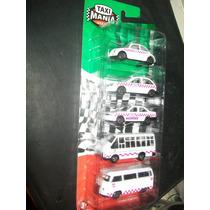 Gcg Coleccion Pack Edo Mexico 5 Pzas Blister Taxi Mania Fn4