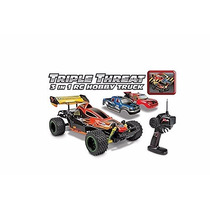 Jh Triple Threat 3 In 1 Hobby 1:12 Rtr Electric Rc Truck