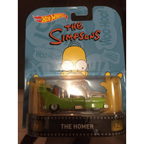 Hot Wheels 2016 Retro The Homer - Simpsons - Llantas De Goma