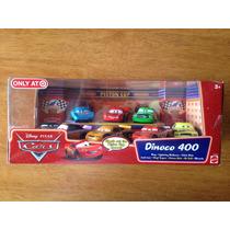 Set Disney Pixar Cars Dinoco 400 Exclusivo Target 8 Autos