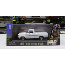 1:43 Ford F100 Pick Up 1979 Blanco Greenlight Dallas