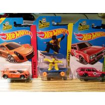 Lote Hot Wheels Datsun 510 Guayin Skate Punk Mastretta Mxr