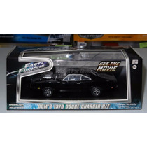 1:43 Dom Dodge Charger Rt 1970 Rapido Y Furioso Greenlight