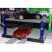 1:24 Plataforma Giratoria Tipo Estacionamiento 2 Niveles