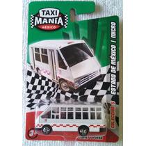Micro Edo De Mex, Taximania, 1/64, Nuevo En Su Blister, Col5