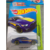 Hot Wheels De Coleccion 2015 Ford Mustang Gt 15 Bvf