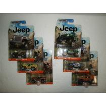 Matchbox Lote 6 Camionetas Jeep Hurricane Wrangler Willys