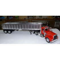 1:32 Kenworth W900 1979 Con Gondola New Ray Trailer