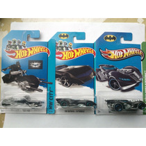 Hot Wheels Lote Vehiculos Batimovil Batman Claritoys