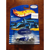Hot Wheels Williams F1 Formula 1 Equipo Hp 1:64 Muy Raro.