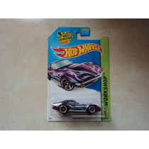 Hot Wheels Llantas De Goma Super T-hunt Corvette 69