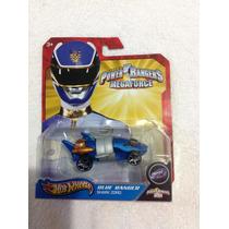 Hot Wheels Power Rangers Blue Ranger (shark Zord)