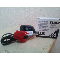Montable Electrico Feber Cargador 12 Volts.