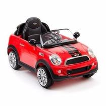 Auto Eléctrico Para Niños Prinsel Resistente Mini Cooper