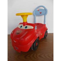 Carrito Montable De Cars Para Niños Musical Sonidos #004