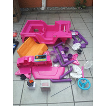 Partes Para Jeep Jammin De Barbie Fisher Price.