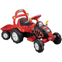 Montable Remolque King Tractor Riding Toy