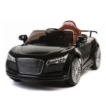 Carrito Nuevo Audi R8 Negro Control Remoto Sonido Mp3 Luces