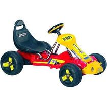 Racer Con Pilas Go - Kart En Rojo
