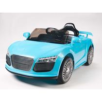 Carrito Electrico Audi R8 Azul Control Remoto Mp3 Luces
