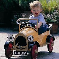 Carrito Carro De Pedales Tipo Antiguo Retro