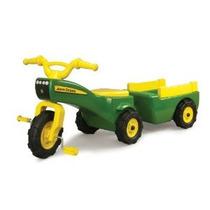 John Deere Tractor De Pedales Y Carro