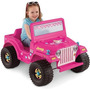 Montable Jeep Wrangler Barbie Power Wheels