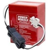 Baterias Para Power Wheels De 6v 9.5ah Roja O Verde Rayo Mac