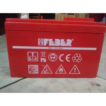 Bateria De 6 Volts 10 Amp Para Montables Electricos Feber