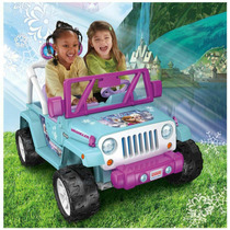Frozen Jeep Power Wheels Edicion Limitada Meses Sin Interes