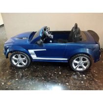 Mustang Montable Power Wheels Como Nuevo Sin Bateria