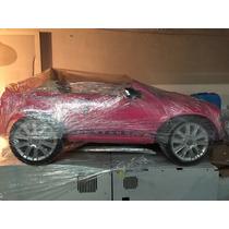 Carrito Electrico Mustang Barbie Seminuevo!!