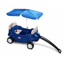 Carro Carrito Tire Capacidad Para 2 Niños Little Tikes Vbf