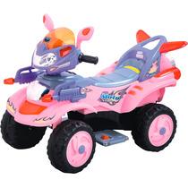 Cuatrimoto Sport Rosa Electrica Infantil Mp3-in Luces Hwo