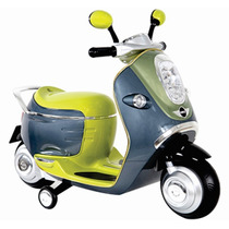 Prinsel Moto Montable Electrico 3-5 Años Luz Claxon Motoneta