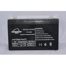 Batería Recargable Nueva Coche Electrico Globalstar 6v 12a
