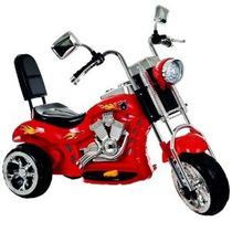 Lil Jinete Mecedora 3 Ruedas Chopper Motocicleta Roja