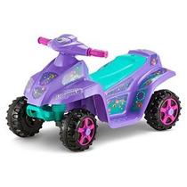 Kid Trax Moto Trax 6v Niño Quad Ride On Purple