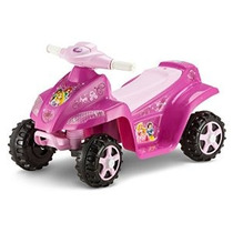 Kid Trax Disney Princess Toddler 6v Quad Ride On Pink