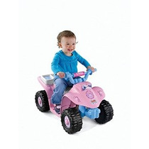 Quad De Fisher-price Power Wheels Disney Princess Lil