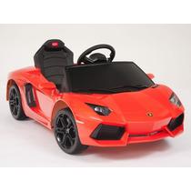 Carrito Electrico Niños Lamborghini Aventador Bateria Mp3