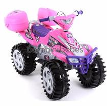 Moto Electrica Tracker Xl 6v Niña Prinsel Girl !!