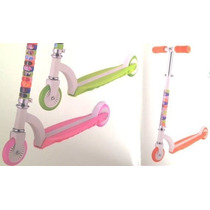 Patin Del Diablo Scooter Infantil Plegable