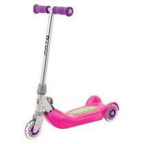 Patineta Razor Jr. Plegable Kiddie Kick Scooter (rosa)